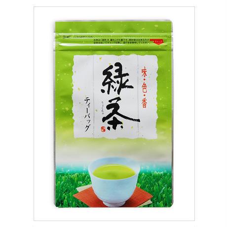 深蒸し茶緑茶ティーバッグ 25包入