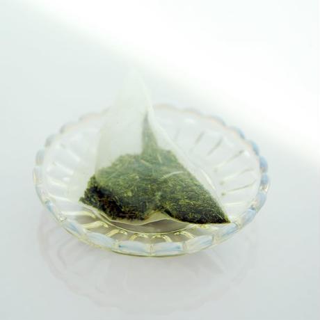 深蒸し茶緑茶ティーバッグ 水出し煎茶 15包入