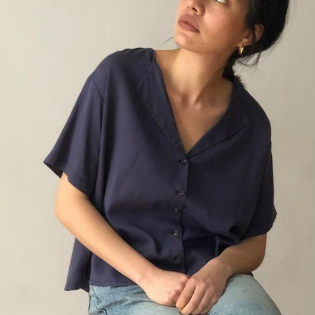 【  TODAYFUL | トゥデイフル 】 Collarless Rough Shirts |  11910439