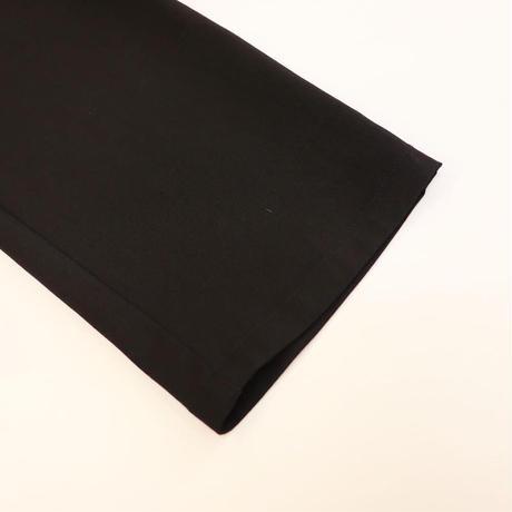 Abientot select!|ギャザーテーパードパンツ|color:ブラック|P2039