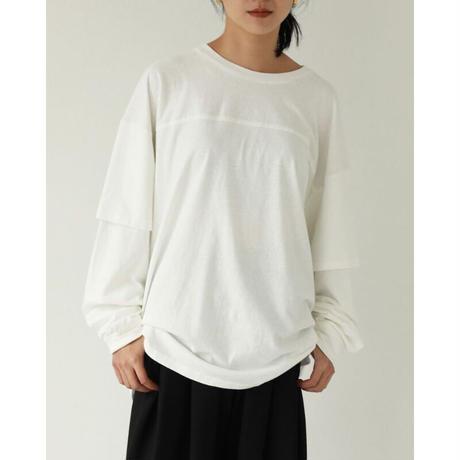 TODAYFUL Cotton Layered Long Tshirts 12110609 T3028