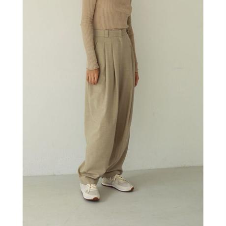 TODAYFUL Highwaist Tuck Trousers 12110703 P3005
