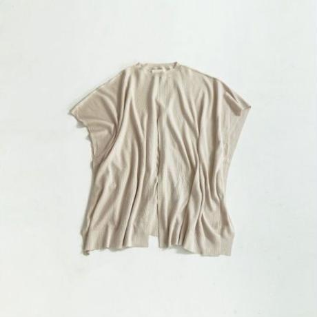 【   TODAYFUL | トゥデイフル 】 Linen Knit Poncho |  11910506