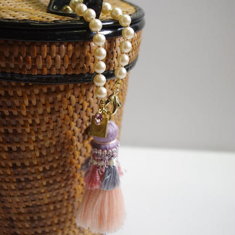 Bag charm tassel (locket)