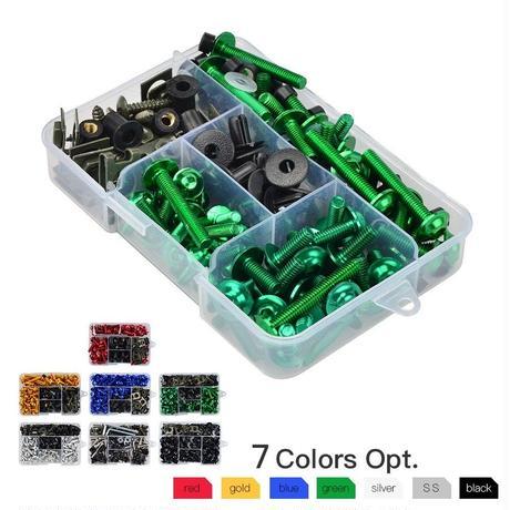 カワサキ ニンジャ フロントガラス フェアリング ボディ ボルト 250R 300 500 650 ZX10R ZX11 ZX14R ZX6R 7R 9R Z750 Z1000(kk05648)