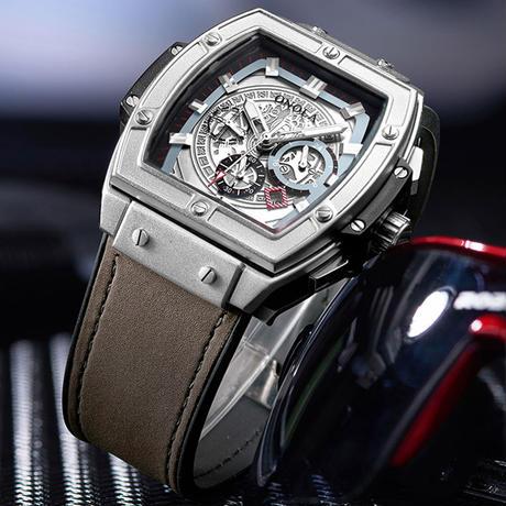 ONOLA メンズ 腕時計 クロノグラフ カジュアル クォーツ ウォッチ 通勤 通学 ビジネス(kk04694)