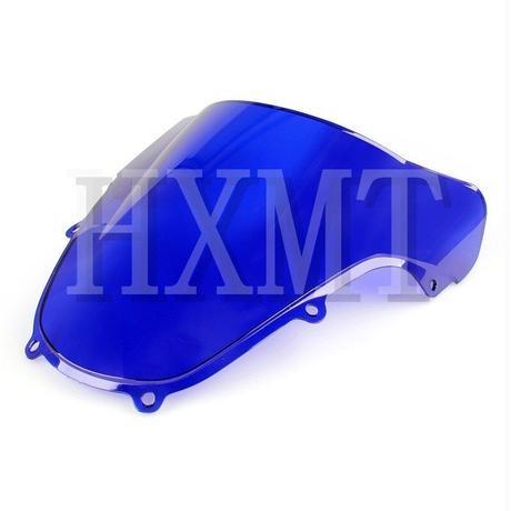 スズキ GSX R1000RK1 2000-2002 GSX R600 R750 K2 2000-2003用 オートバイ ウインドシールド ウインドスクリーン フロントガラス 風防(kk06093)