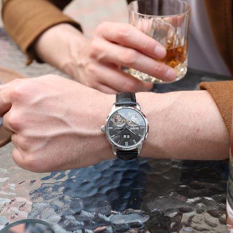 Haiqin メンズ腕時計 2019 高級防水ファッションスポーツ/自動/軍事/高級/機械式/腕時計 男性用(kk04739)