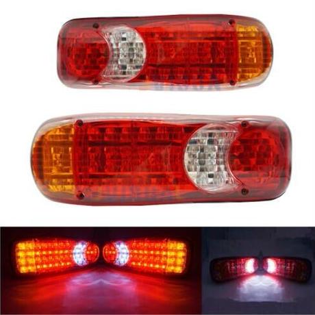 """"""" トラック用 ライト 12V 車 46 LED テール インジケータ フォグランプテールライト 防水 トラック トレーラー (kk05438)"""