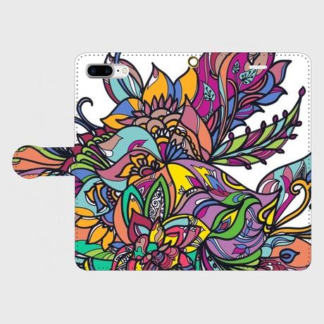 ECHARINIUM flowering psychedelic smart phone case
