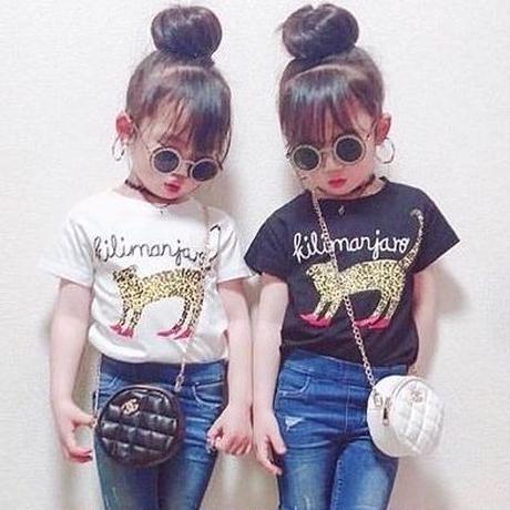 レオパードTシャツ