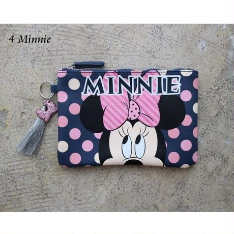 日本未入荷【PRIMARK プライマーク】 DISNEY ポーチ 全4柄 SleepingBeauty、Tinkerbell、Mickey&Minnie、Minnie