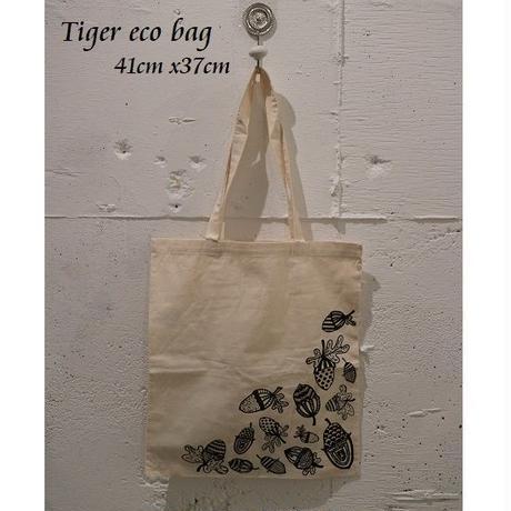 輸入雑貨【TIGER】エコバッグ フライングタイガーコペンハーゲン どんぐり