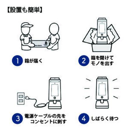 サーモカメラ搭載非接触検温器 QuickHygieneTerminal