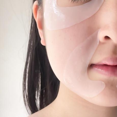 【定期便/いつでも10%オフ】クレセントマスク 目元用 8セット (16枚入り)