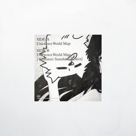 """やくしまるえつこ『アンノウン・ワールドマップ』7inchアナログレコード(特典付)/ """"Unknown World Map"""" 7inch Vinyl"""