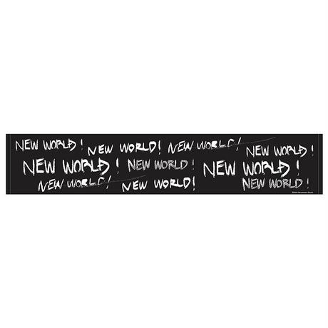 NEW WORLD マフラータオル