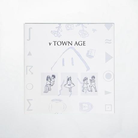 """『ν TOWN AGE』(ニュータウンエイジ)高音質45回転重量盤LP3枚組(特典付)/  """"ν TOWN AGE"""" 180g Vinyl x3 [12inch 45rpm]"""