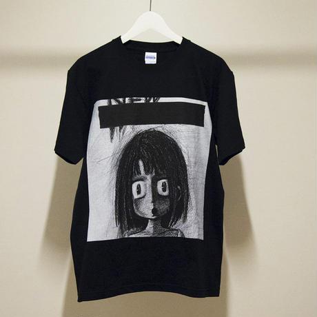 天声ジングル ヘビーウェイトTシャツ(ブラック)