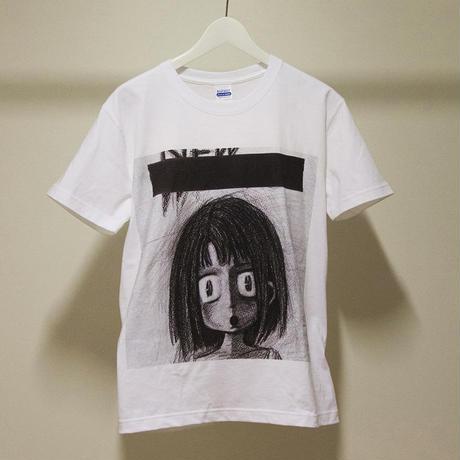 天声ジングル ヘビーウェイトTシャツ(ホワイト)