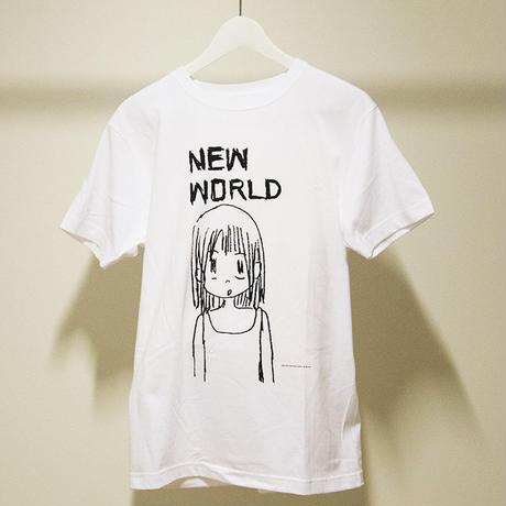 NEW WORLD GIRL Tシャツ(ホワイト)