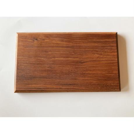 無垢材のプレート チーク 056