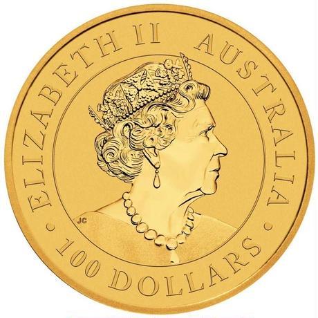 【送料無料】オーストラリアンゴールド カンガルーコイン (BU)2021年 1オンス(約31.1g)