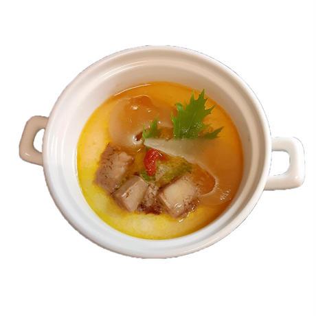 フカヒレとフォアグラの茶碗蒸し (2人前)