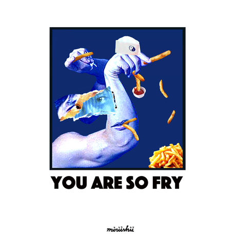 "【受注販売終了】YOU ARE SO ""FRY"" LONG SLEEVE TEE"
