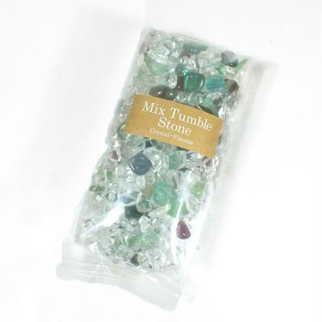【頭脳・学習能力向上!】石とアロマのパワーで貴方も「開運ROOM」作り♡「MIRIAM☆クリスタルアロマランプ用」ミックスタンブルストーン☆「水晶・フローライト」