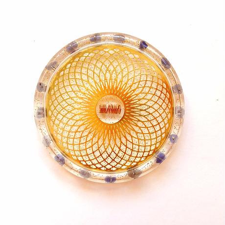 日常生活の中から楽しく開運♪【直観力・先見の明・冷静さ】「MIRIAM」新作☆開運オルゴナイトパワーコースター☆彡「アイオライト」×「トーラス」