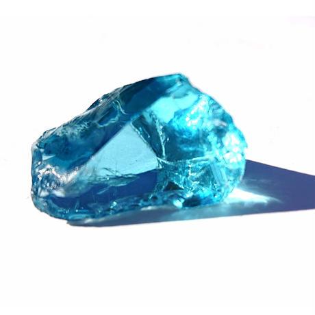 【一点モノ!&超レア!】前回登場後、たちまち完売!大人気クリスタル☆完璧なる美の光、宇宙のエネルギーを秘めたネリーランド産「アンダラクリスタル原石(エレクトリックブルー・ダーク)」