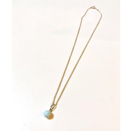 【平和と癒しの石!】ラリマーネックレス(silver925チェーン付き)