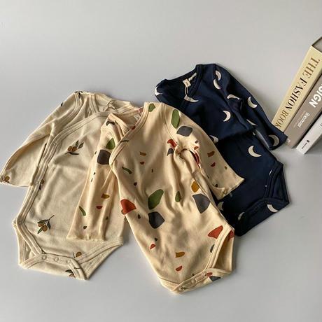 【organic zoo】WOBT Terazzo Wrap Bodysuit