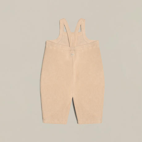 【CDPOZ】 Pebble Terry  dungarees cropped