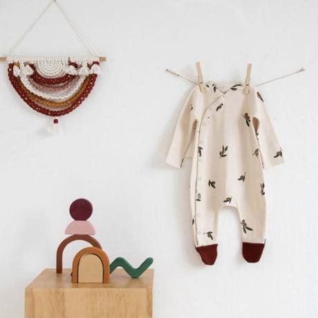 【organic zoo】OSLOZ Olive garden suit w contrast feet