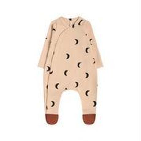 【organic zoo】PMSLOZ Pobble midnight suit w contrast feet