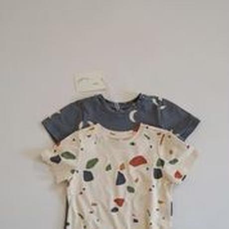 【STTOZ】 Terrazzo classic T-shirt