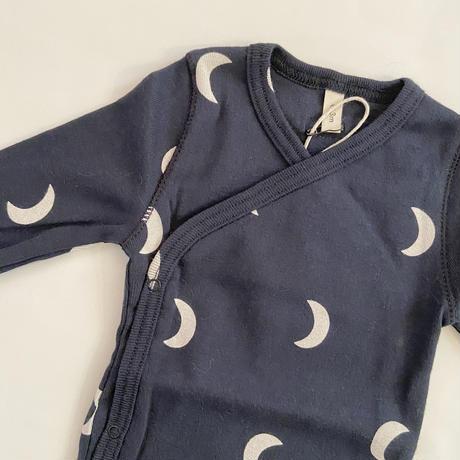【organic zoo】WOBNM Navy Midnight Wrap Bodysuit