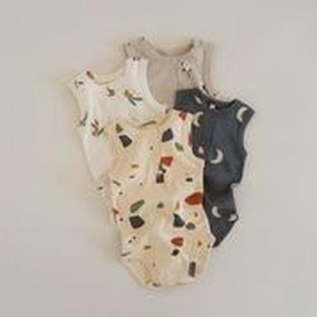 【SBOOZ】 Olive Garden sleevless bodysuit