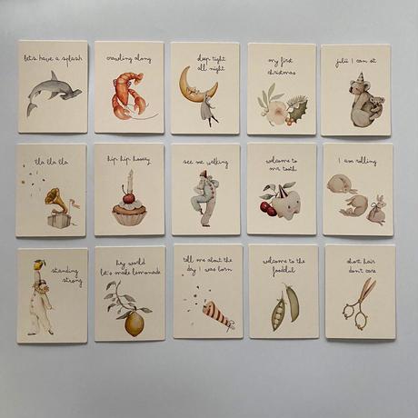 【Konges Sløjd】月齢カード