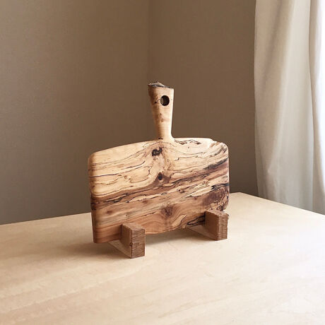 """CUTTING BOARD CB-09 """" SPALTED MAPLE-1 """""""