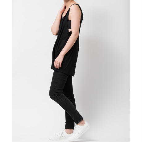 SPIMA COTTON TANK SHIRTS (BLACK)