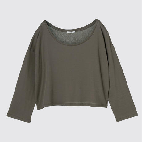 SPIMA COTTON LONG T (KHAKI BROWN)