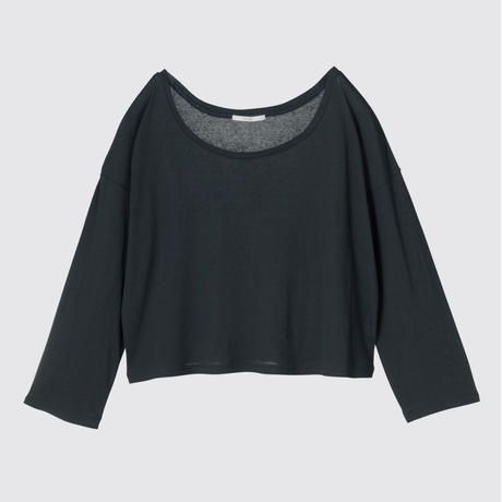 SPIMA COTTON LONG T (BLACK)