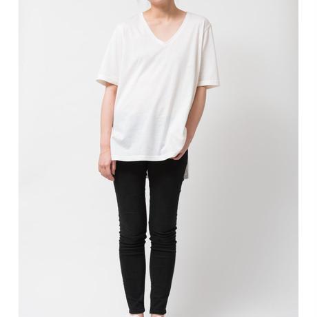 SILK OVERSIZEDE Tシャツ / オフホワイト
