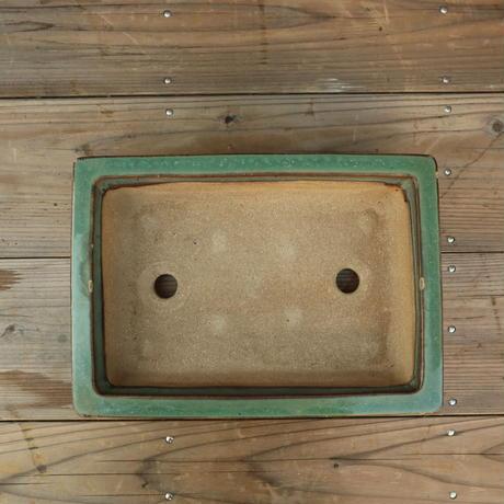 A004 角型四足盆栽鉢/和鉢 初平造
