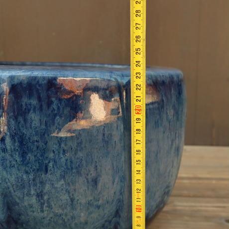 A001 海鼠釉薬十角火鉢