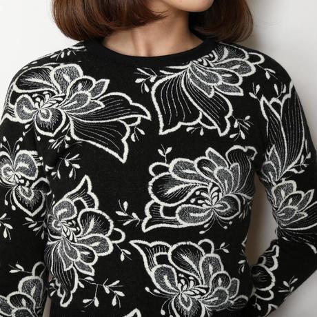 刺繍セーター