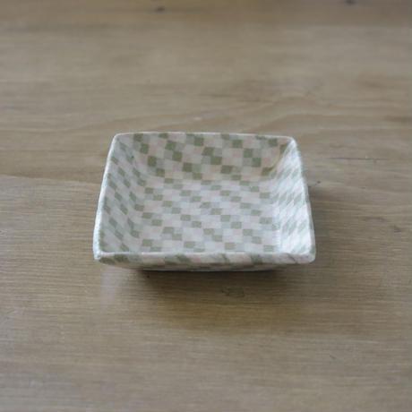 irodori窯 角豆皿〈1〉
